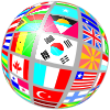 Globe of Flags