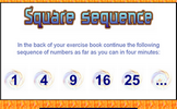 Square Sequence