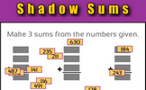 Shadow Sums